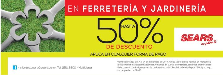 TODAY great discount JARDINERIA y ferreteria - 15dic14