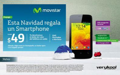VERYKOOL smartphone con android de MOVISTAR - 05dic14