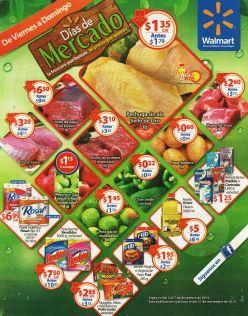 WALMART Desde hoy ofertas de mercado - 05dic14