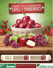 celebra estas felcices fiestas con uvan y manzanas tradicion