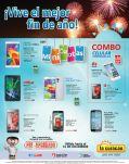 combo de celulares para finalizar el 2014 via LA CURACAO - 30dic14