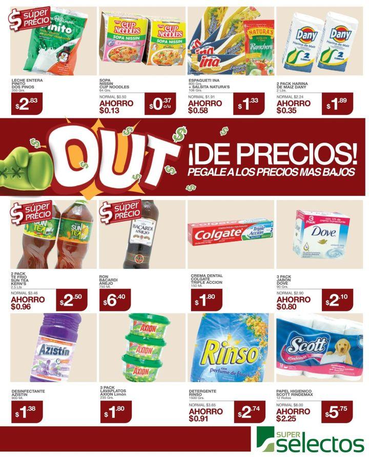 precios bajos esta semana del super selectos - 13dic14