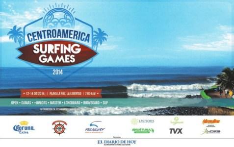 travel to centroamerica SURFING GAMES 2014 beach La Paz el salvador