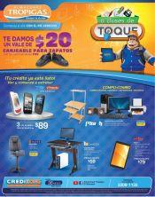 A clases de toque promociones almacenes tropigas - 02ene15