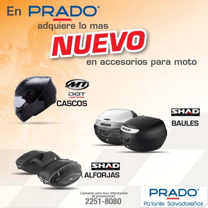 Accesorios para moto PRADO ofertas - 27ene15