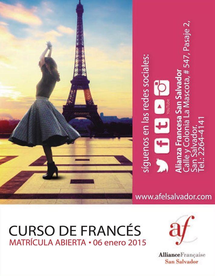 Aprender frances en el salvador cursos alianza francesa 2015