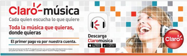 CLARO music stream service for you smartphone