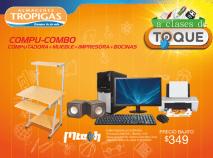 Compu COMBO pomocion Almacenes tropigas para regreso a clases - 10ene15