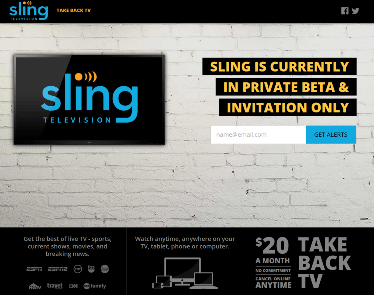 DISH Sling television services TAKE back TV