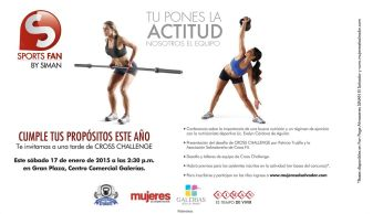 GALERIAS cross fit challlenge