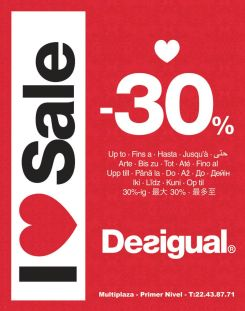 I love SALE fashion life style DESIGUAL - 16ene15