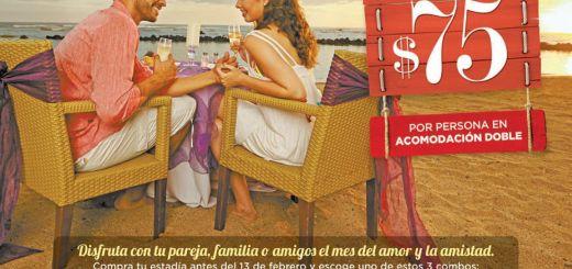 Love trip on the beach ROYAL DECAMERON resort - 26ene15