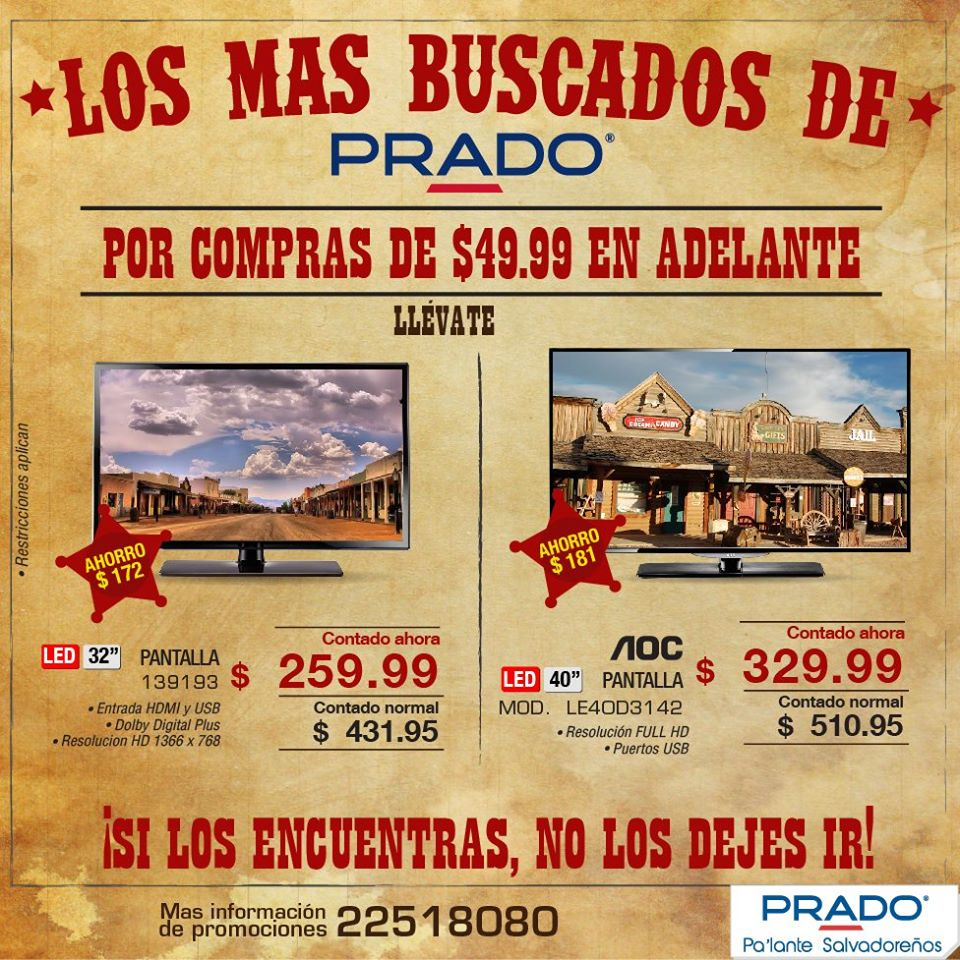 PRADO FULL HD tv AOC savings - 26ene15
