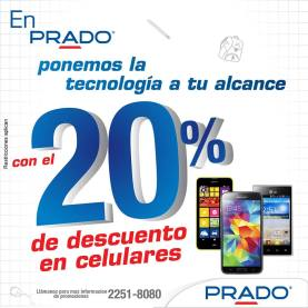 PRADO celulares y smartphones con descuentos - 21ene15