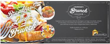 SUNDAY brunch season caja marca promocion - 24ene15