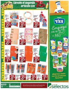 Segundo artculo a 75 OFF super selectos cuadernos - 23ene15