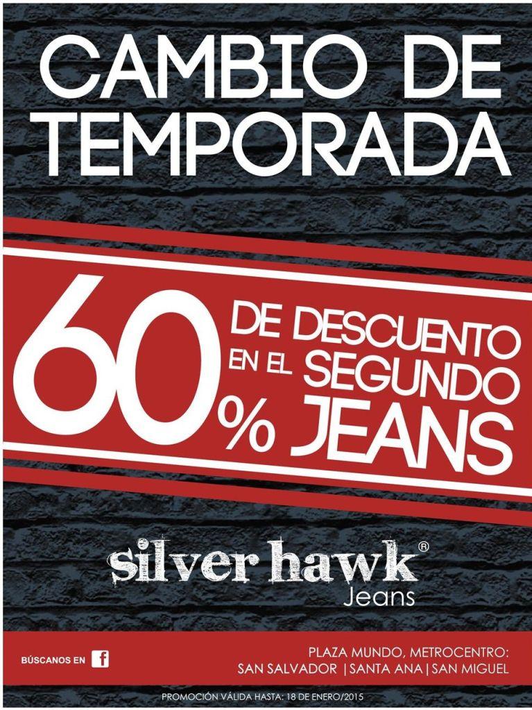 Silver HAWK jeans promocion of season - 10ene15