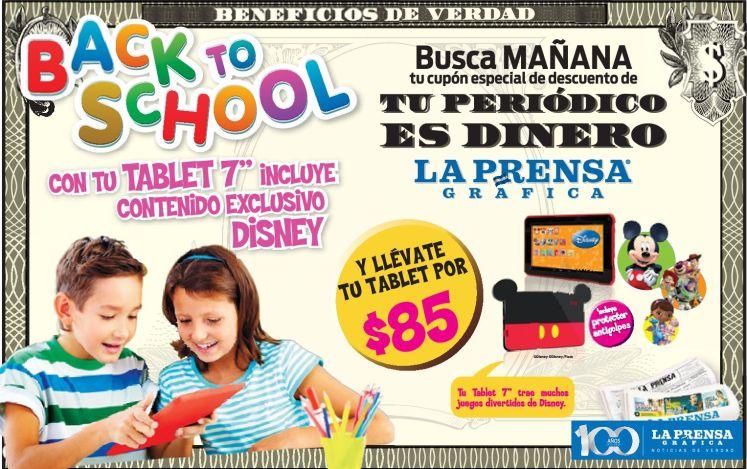 TABLET for kids micky mouse DISNEY - 23ene15