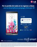 TIGO smartphone LG L3 gran capacidad multimedia - 05ene15