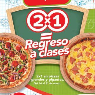 Telepizza promocion 2x1 enero 2015