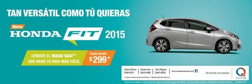 Trend cars HONDA FIT 2015 magic seat