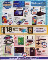 WALMART Televisores TABLETS laptops SMARTPHONE todo para el colegio - 30ene15