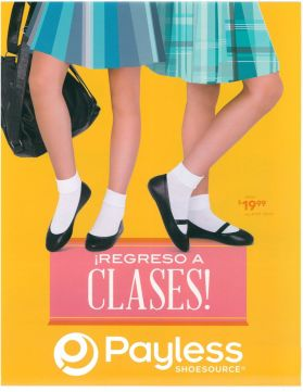 calzado para chicas PAYLESS school time - 09ene15