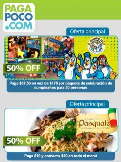 comprar ofertas de CUPONES pagapoco - 13ene15