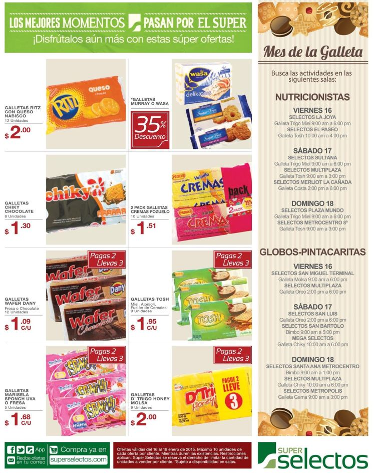 cookie month fest DISCOUNTS - 16ene15