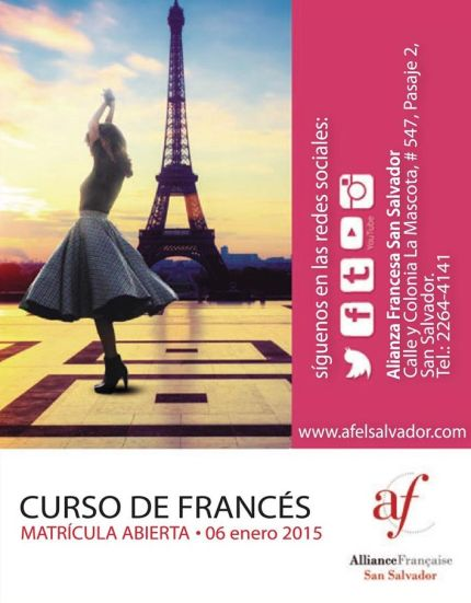 cursos de frances language