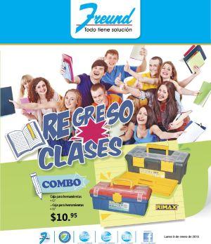destacado FREUND Folleto escolar REGRESO A CLASES 2015