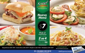 executive lunch PROMOTIONS kreef gourmet - 16ene15