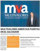 new entidad mercados financieros centro america MULTIVALORES