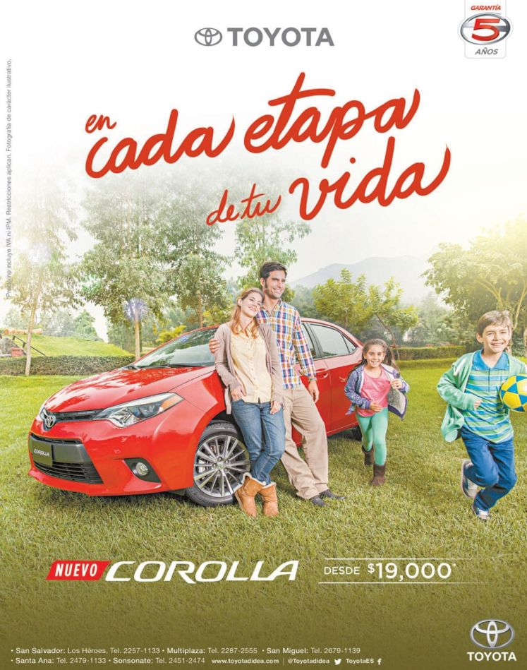 promotion new toyota COROLLA 2015