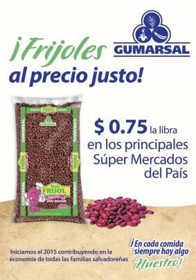supermercado FRIJOLES a buen precio GUMARSAL