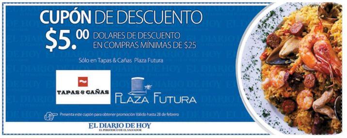 Ahora CUPON de DESCUENTO en plaza futura - 16feb15