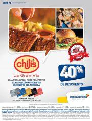 Banco Agricola discounts CHILIS san valentines - 10feb15