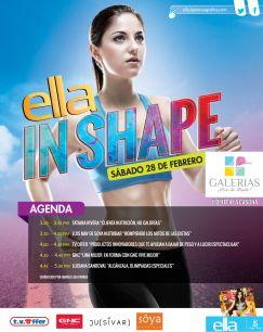 Consejos de nutricion ELLA in SHAPE galerias escalon 28 feb 15