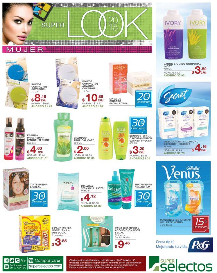 Descuentos en productos de belleza y cambio de look - 28feb15