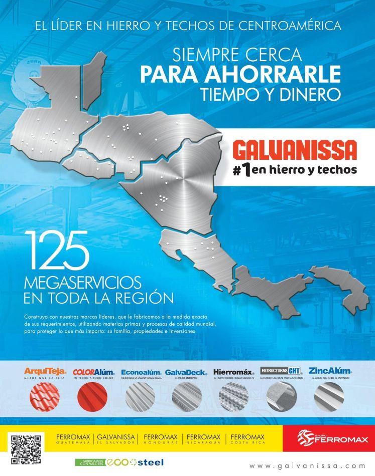 FERROMAX GALVANISA hiero y techos de centroamerica