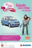 GANATE un cena romantica con SUZIKI - 02ene15