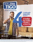 Hoy es dia TIGO con cuadruple saldo - 28feb15