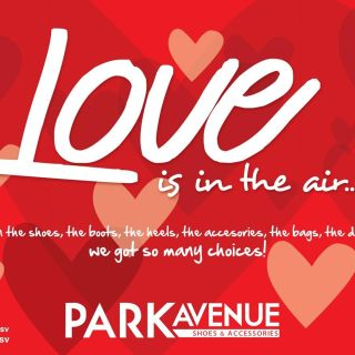 LOVE is in the air PARK AVENUE shoes and accesories - 09feb15