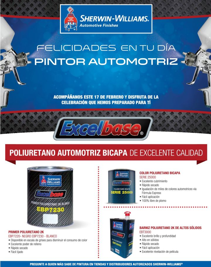 Poliureterano automotriz PAINT as a professional - 17feb15