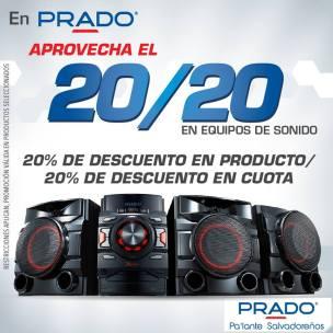 Promocion 20 20 de PRAOD equipos de sonido - 03feb15