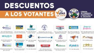 Promociones para los votantes elecciones 2015