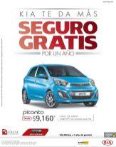 SEGURO GRATIS para tu auto KIA picanto - 02ene15
