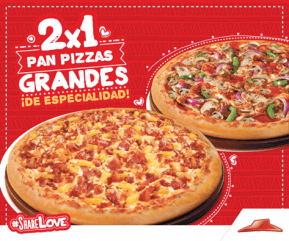 SHARE love pizza hut 2x1 online promotion - 18feb15