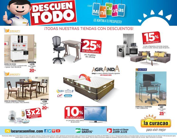 Todas las tiendas LA CURACAO el salvador con descuento - 20feb15