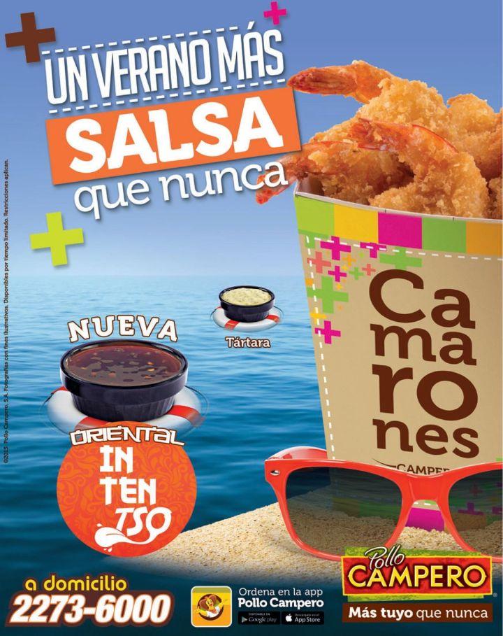 Verano 2015 mas intenso con CAMARONES con SALA oriental pollo campero